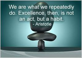 Image result for quote about habits aristotle